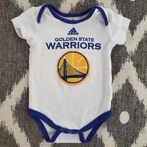 Adidas Golden State Warriors Basketball Onesie